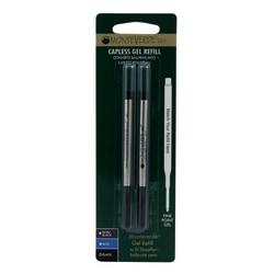 Monteverde® Rollerball Refills For Sheaffer Rollerball Pens, Fine Point, 0.5 mm, Black, Pack Of 25 Refills