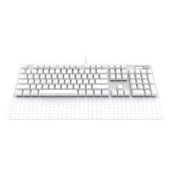 Azio MK MAC USB Keyboard, White, MK-MAC-U01