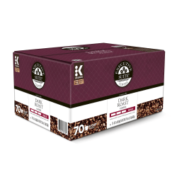 Executive Suite® Dark Roast Single-Serve Coffee K-Cup®, Carton Of 70 Pods
