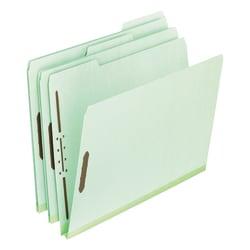 "Pendaflex® Pressboard Expanding Folders, 8 1/2"" x 11"", Letter Size, 30% Recycled, Green, Box Of 25 Folders"