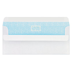 "Columbian® Self-Seal® Security Envelopes, #10, 4 1/8"" x 9 1/2"", White, Box Of 100"