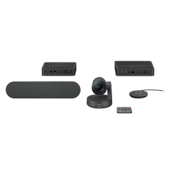 Logitech® Rally Premium Ultra-HD ConferenceCam System, Black