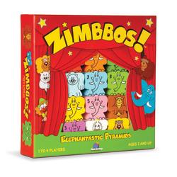 Blue Orange Games Zimbbos Counting Stacking Game, Pre-K To Grade 1
