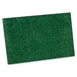 """Impact Products General Purpose Scouring Pad - 6"""" Width x 9"""" Length - 10/Bag - Green"""
