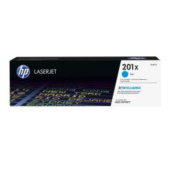 HP 201X (CF401X) High Yield Cyan Original LaserJet Toner Cartridge
