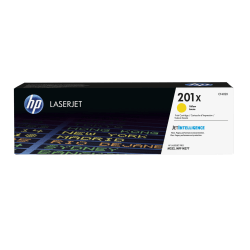 HP 201X (CF402X) High Yield Yellow Original LaserJet Toner Cartridge