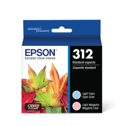 Epson® Claria Photo Hi-Definition T312923-S Cyan/Magenta/Yellow Ink Cartridges, Pack Of 3
