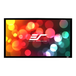 Elite Screens? Sable Frame - 103-inch 2.35:1, Fixed Frame Home Theater Projection Projector Screen, ER103WH1-Wide""
