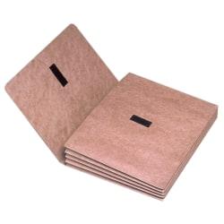 "SKILCRAFT® Expanding Wallet Folder, 1 Pocket, Expansion 3-1/2"", 8 1/2"" x 11"", Letter, 30 % Recycled, Red, Pack of 1"