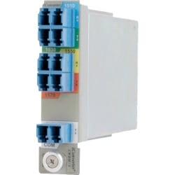 iConverter 4-Ch SF CWDM Mux/Demux - 4-Channel Single Fiber CWDM MUX/DMUX-L (Ch1 1270/1290 - Ch2 1310/1330 - Ch3 1350/1370 - Ch4 1430/1450