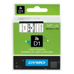 "DYMO® D1 45808 Black-On-Yellow Tape, 0.75"" x 23'"