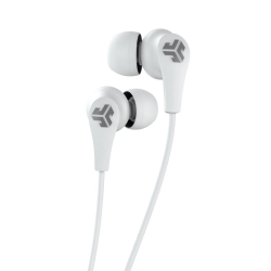 JLab JBuds Pro Wireless Earbud Headphones, White, EBPRORWHTGRY123