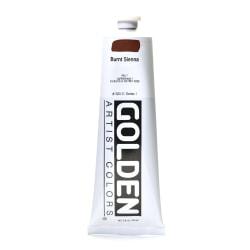 Golden Heavy Body Acrylic Paint, 5 Oz, Burnt Sienna