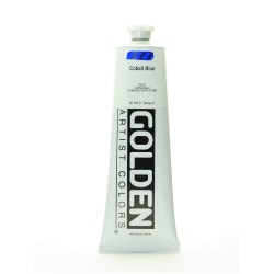 Golden Heavy Body Acrylic Paint, 5 Oz, Cobalt Blue