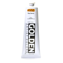 Golden Heavy Body Acrylic Paint, 5 Oz, Raw Sienna