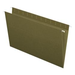 Pendaflex® Hanging Folders, Legal Size, 100% Recycled, Standard Green, Box Of 25 Folders