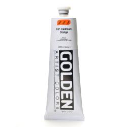 Golden Heavy Body Acrylic Paint, 5 Oz, Cadmium Orange (CP)