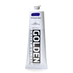 Golden Heavy Body Acrylic Paint, 5 Oz, Ultramarine Blue