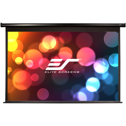 Elite Screens Spectrum - 128-inch Diag 16:10, Electric Motorized 4K/8K Ready Drop Down Projector Screen, Electric128X""