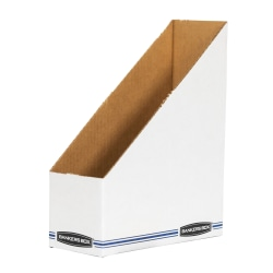 "Bankers Box® 60% Recycled Low-Cost Fiberboard Magazine File, 11 3/4""H x 4""W x 9 1/4""D"