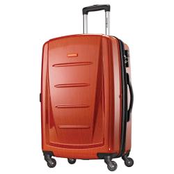 "Samsonite® Winfield 2 Polycarbonate Rolling Spinner, 28""H x 19""W x 12""D, Orange"