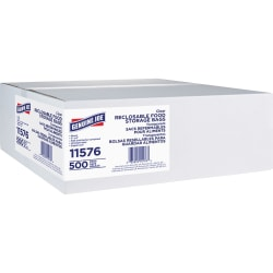 Genuine Joe Food Storage Bags - 1.75 mil (44 Micron) Thickness - Clear - 4000/Carton - Food, Beef, Poultry, Vegetables, Seafood