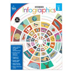 Carson-Dellosa™ Ready To Go Infographics Workbook, Grade 3