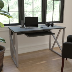 "Flash Furniture 48""W Computer Desk, Black"