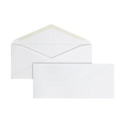 Office Depot® Brand #9 Envelopes, Gummed Seal, White, Box Of 500