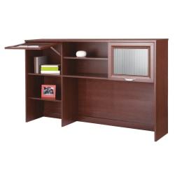 """Realspace® Magellan 58""""W Hutch For Corner/L-Desk, Classic Cherry"""