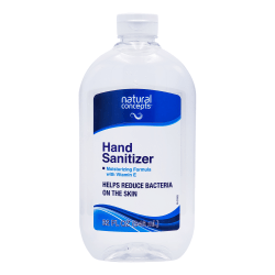 Natural Concepts Antibacterial Gel Hand Sanitizer, Fresh Scent, 32 Oz Bottle