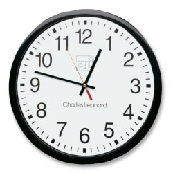 "CLI 12"" Quartz Wall Clock - Analog - Quartz"