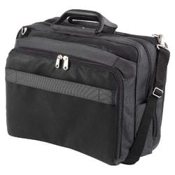 """Kensington® Contour™ Pro 17"""" Notebook Computer Carrying Case, 14""""H x 16""""W x 5.5""""D, Black"""
