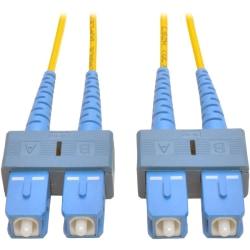 Tripp Lite 3M Duplex Singlemode 8.3/125 Fiber Optic Patch Cable SC/SC 10' 10ft 3 Meter - SC - SC - 9.84ft