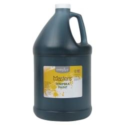 Handy Art Little Masters Tempera Paint Gallon - 1 gal - 1 Each - Black