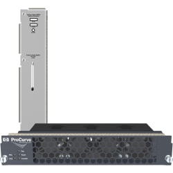 HPE A58x0AF Front (port side) to Back (power side) Airflow Fan Tray - Front to Back Air Discharge Pattern