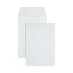 """Office Depot® Brand Large Format Open-End White Envelopes, 6 1/2"""" x 9 1/2"""", Box Of 500"""