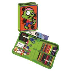 Blum Zombie K-4 School Supply Kit - School, Home, Decoration - 41 Piece(s) - 1 Kit - Bright Assorted - Wood