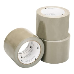 "SKILCRAFT® Package Sealing Tape, 3"" x 60 Yd., Tan (AbilityOne 7510-00-079-7905)"