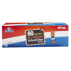 Elmer's® Glue Stick Classroom Pack, 14.4 Oz, Pack Of 60