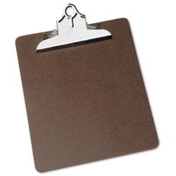 "50% Recycled Heavy-Duty Clipboard, 9"" x 12 1/2"", Brown (AbilityOne 7520-00-281-5918)"