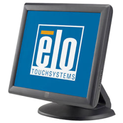 """Elo 1715L Touchscreen LCD Monitor - 17"""" - Surface Acoustic Wave - 1280 x 1024 - 5:4 - Dark Gray"""