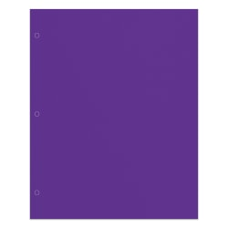 Office Depot® Brand 2-Pocket Paper Folder, Letter Size, Purple