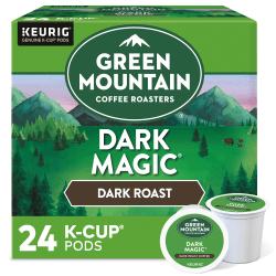 Green Mountain Coffee® Single-Serve Coffee K-Cup®, Dark Magic Extra-Bold, Carton Of 24