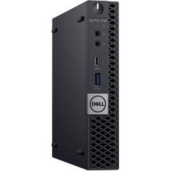 Dell™ 7060-MICRO Refurbished Desktop PC, Intel® Core™ i7, 16GB Memory, 512GB Solid State Drive, Windows® 10, OD1-21816
