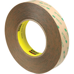 "Scotch® 9472LE Adhesive Transfer Tape Hand Rolls, 3"" Core, 1"" x 60 Yd., Clear, Case Of 9"