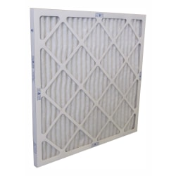 "Tri-Dim Pro HVAC Pleated Air Filters, Merv 13, 20"" x 24"" x 1"", Case Of 12"