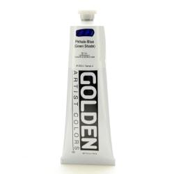 Golden Heavy Body Acrylic Paint, 5 Oz, Phthalo Blue/Green Shade