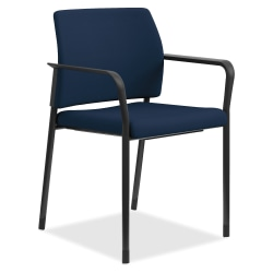 HON® Accommodate Guest Chairs, Navy/Black, Set Of 2