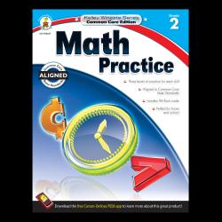 Carson-Dellosa Kelley Wingate Math Practice Workbook, Grade 2